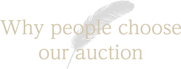 Why people choose our auction